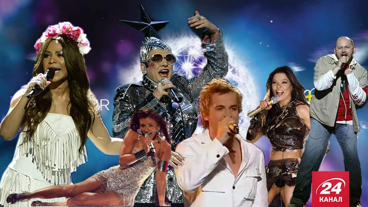 Украинцы на Евровидении. Самые успешные и самые провальные выступления