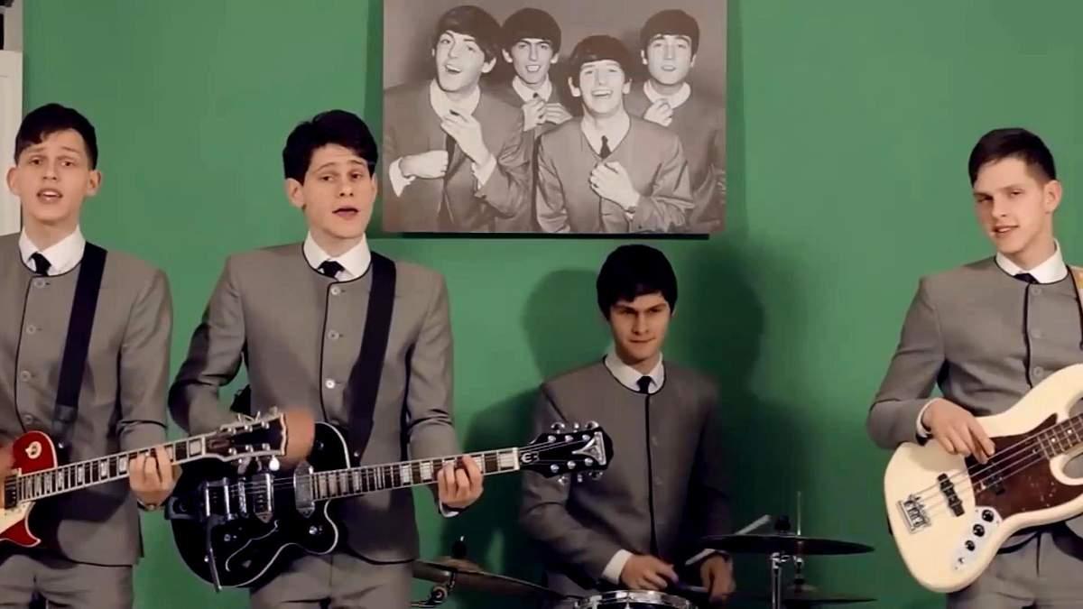 Легендарні The Beatles вперше зазвучали українською