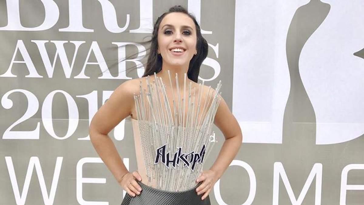 """Джамала в оригинальном платье засветилась на """"Brit Awards"""": появились фото"""