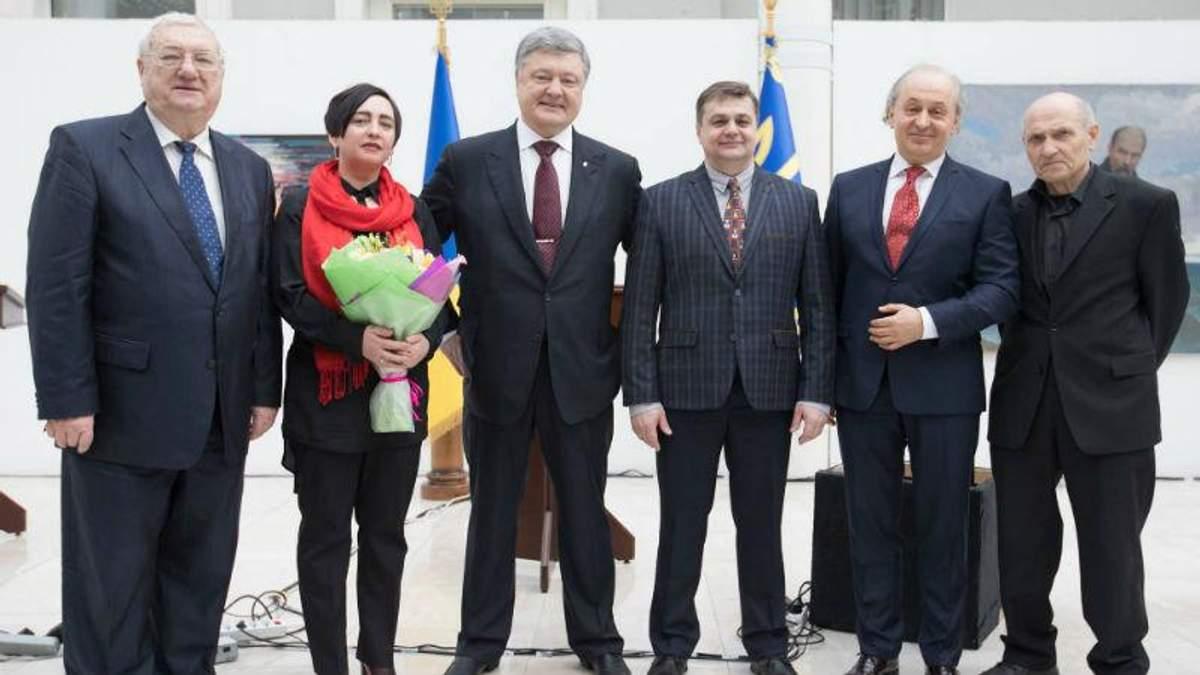 Порошенко вручив Шевченківські премії: з'явився перелік лауреатів