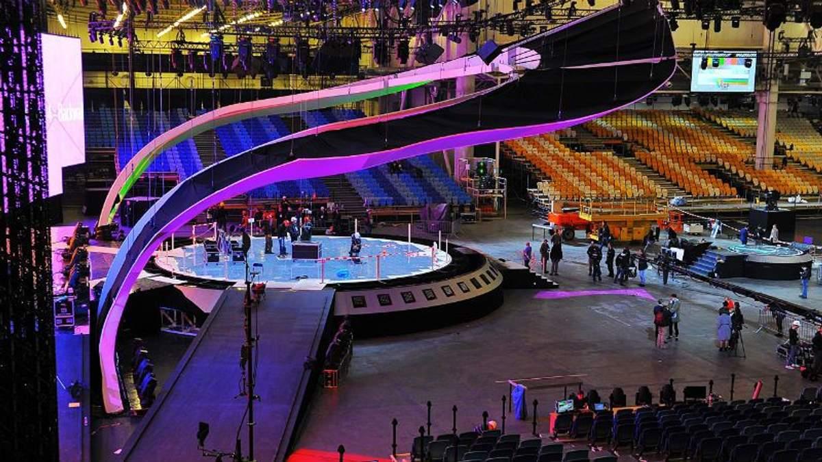 Головна сцена Євробачення-2017 повністю готова: опубліковані видовищні фото