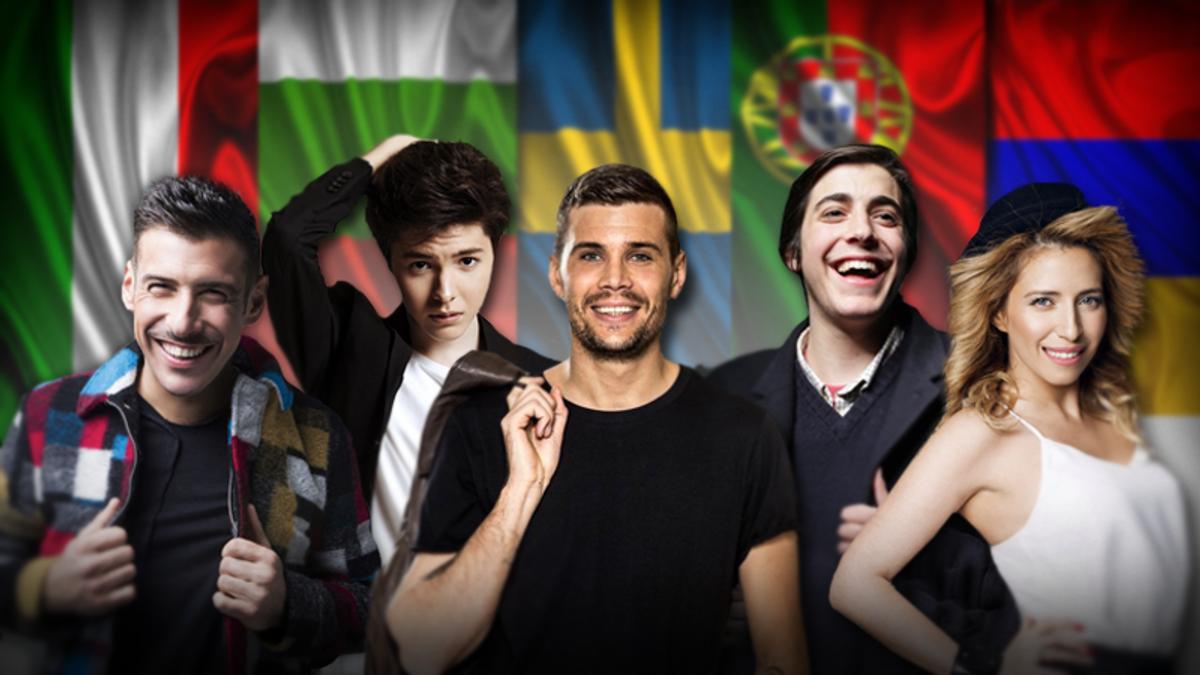 Ставки на Євробачення-2017: ТОП-факти про фаворитів букмекерів