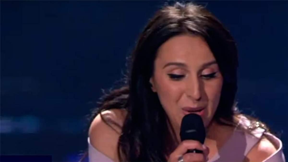 Фінал Євробачення 2017: під час виступу Джамали фанат показав голий зад