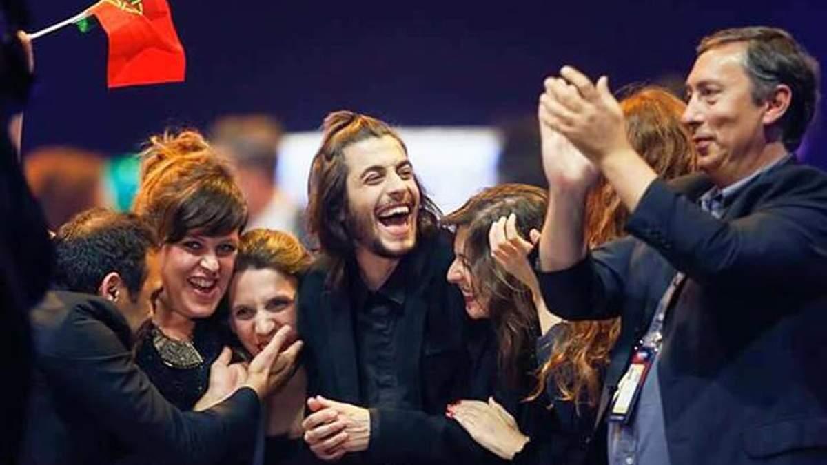 Переможця Євробачення-2017 грандіозно зустріли на батьківщині