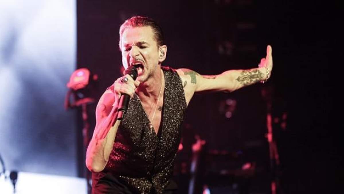 Концерт Depeche Mode у Білорусі скасували: Дейв Гаан у лікарні