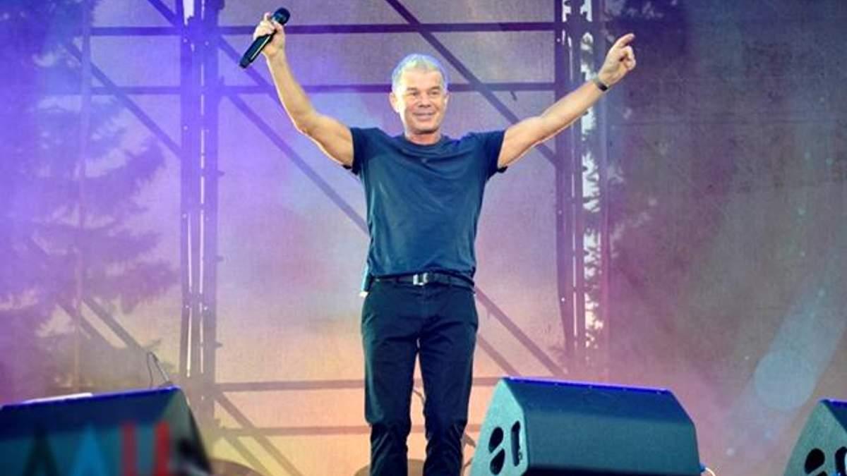 В оккупированном Донецке выступил известный российский певец