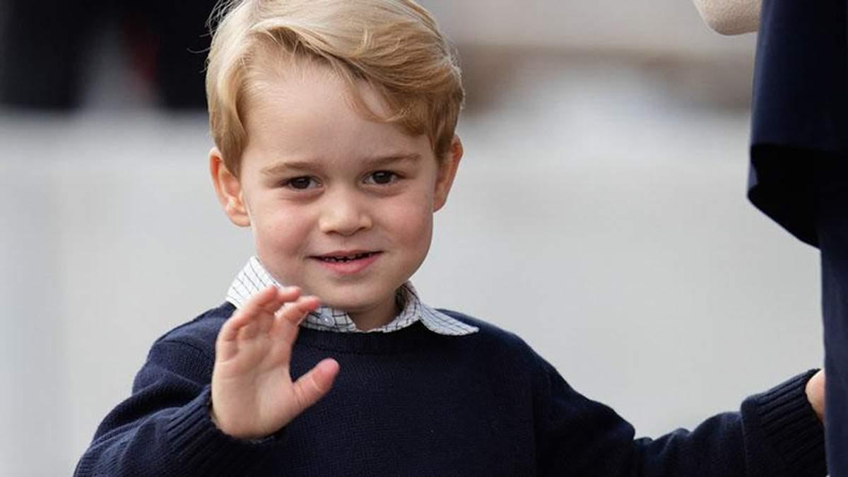 Син принца Вільям та Кейт Міддлтон вперше пішов до школи: з'явилися фото