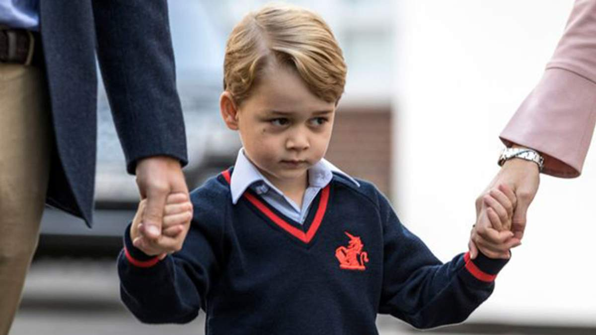 Яке неофіційне прізвище дали принцу Джорджу в перший день школи