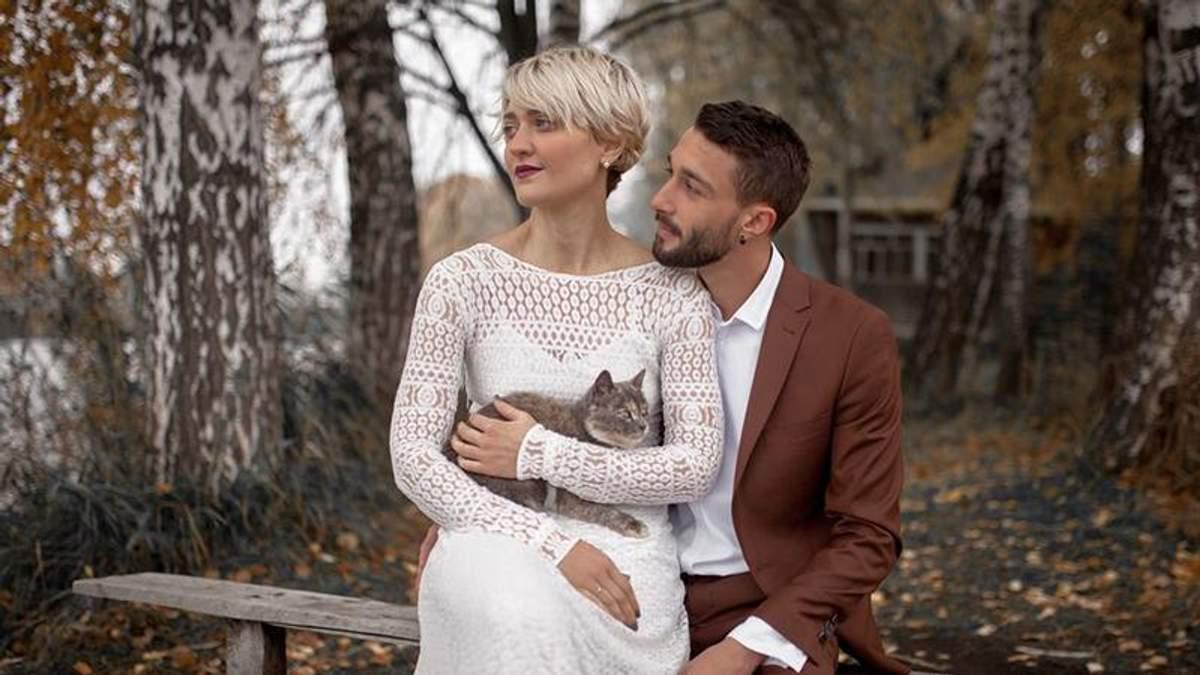 Віра Кекелія і Роман Дуда - фото з весілля