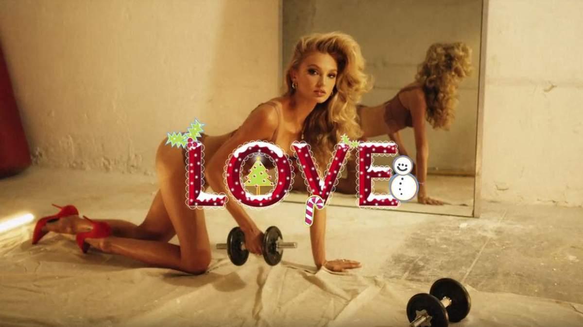 Зваблива модель Victoria's Secret знялась у спокусливому образі для Love Magazine: відео