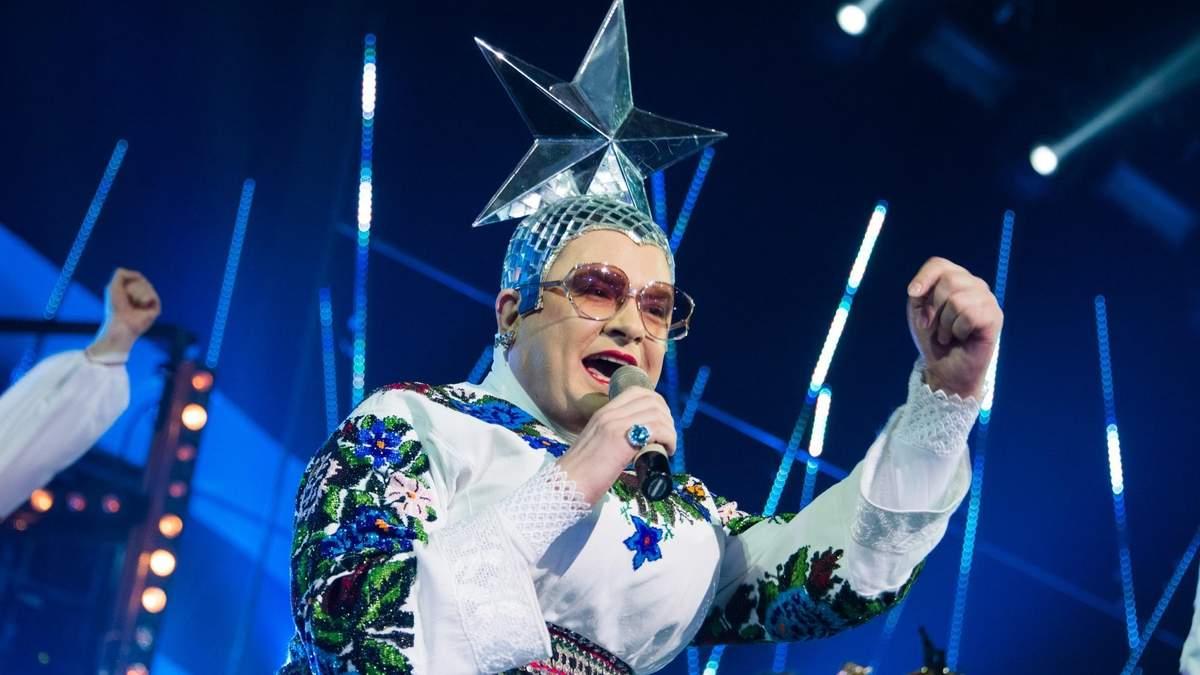 Данилко розважав росіян на Новий Рік
