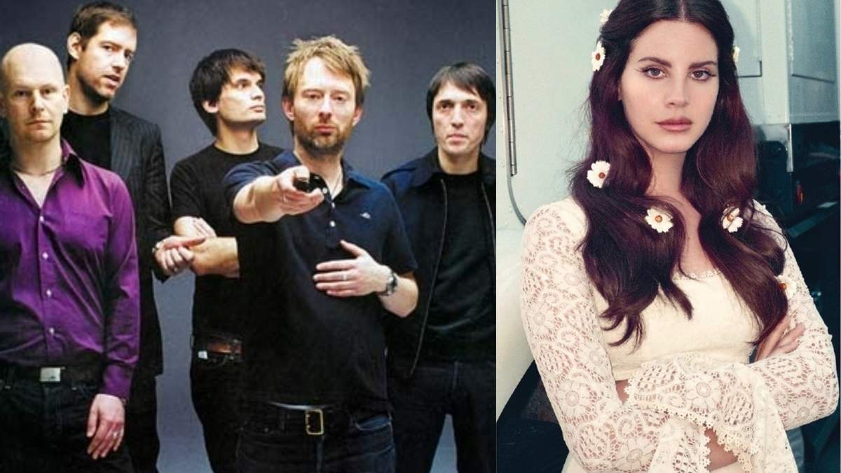 Radiohead звинуватив Лану Дель Рей у плагіаті: порівняння пісень