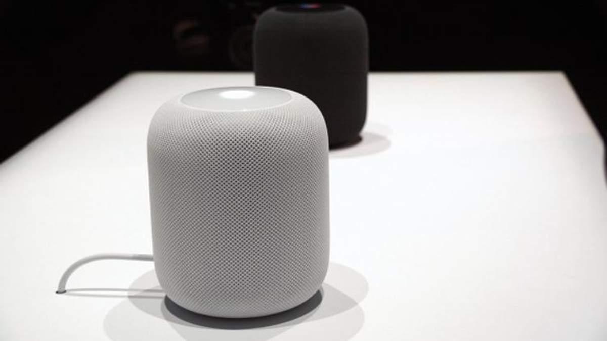 """Apple випускає у світ """"розумну"""" колонку HomePod: але є нюанси"""