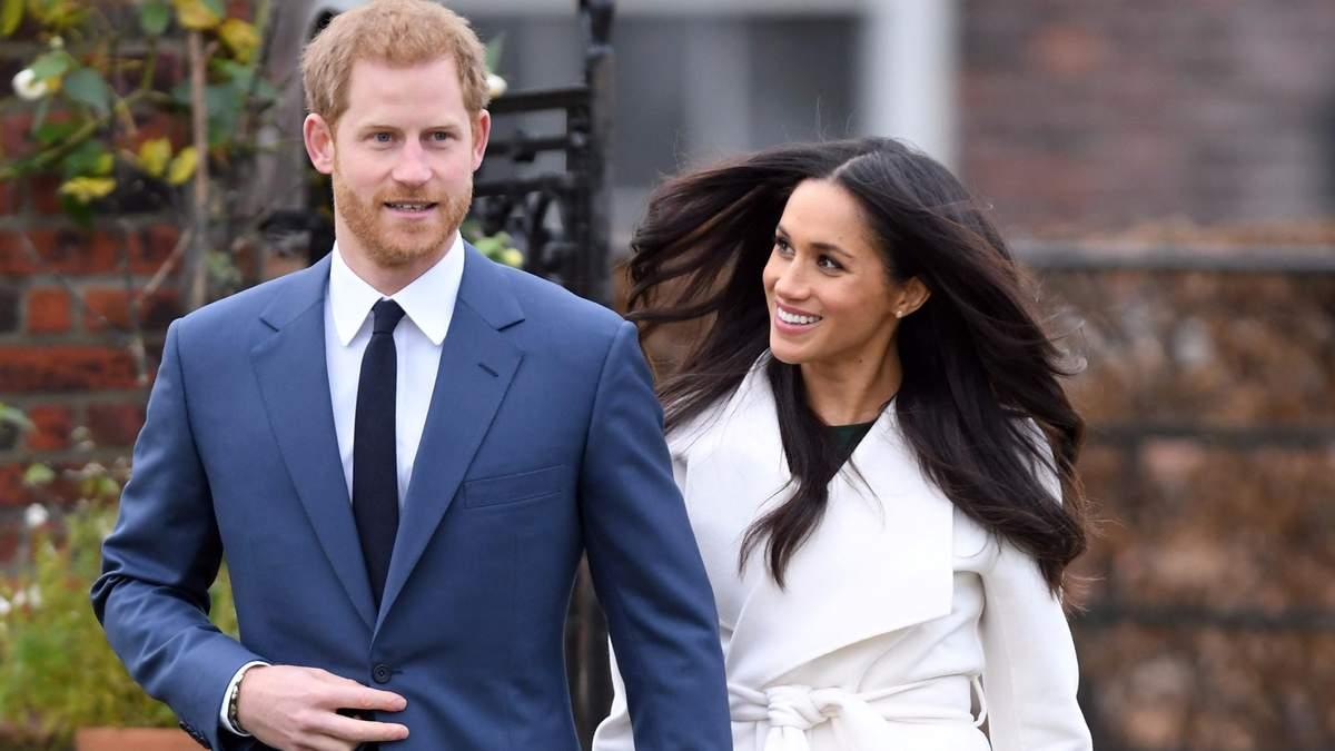 З'явилися нові деталі королівського весілля принца Гаррі і Меган Маркл