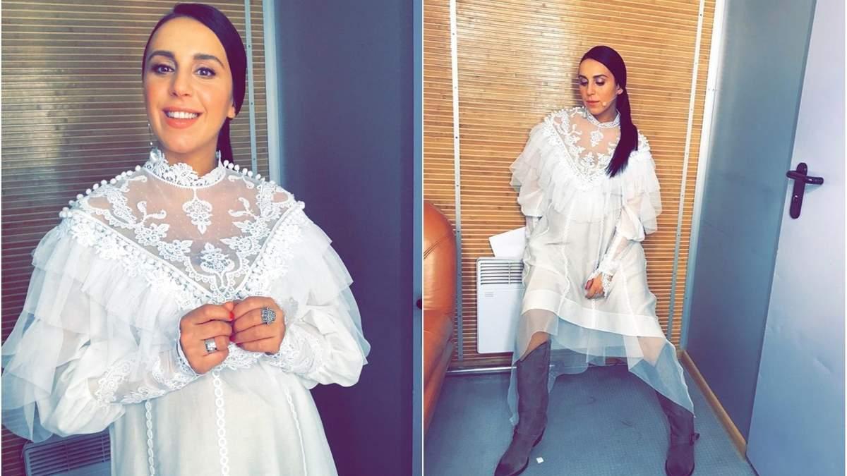 Джамала поразила нежным образом на Нацотборе на Евровидение 2018: яркие фото