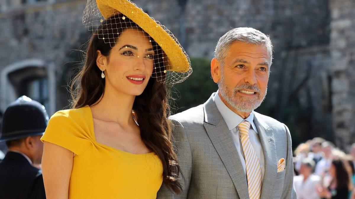 Перші гості королівського весілля: незрівнянна Амаль і Джордж Клуні – фото