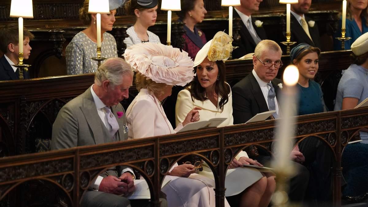 Єлизавета II, Кейт Міддлтон, принц Чарльз та інші прибули на королівське весілля: фото