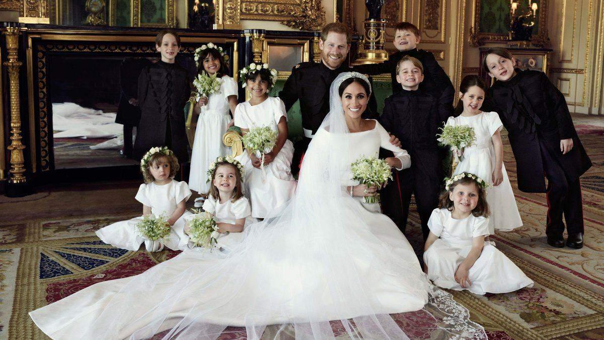 Свадьба принца Гарри и Меган Маркл: обнародованы первые официальные фото