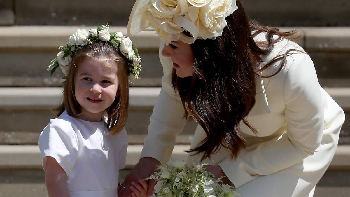 Принцеса Шарлотта стане подругою нареченої в принцеси Євгенії
