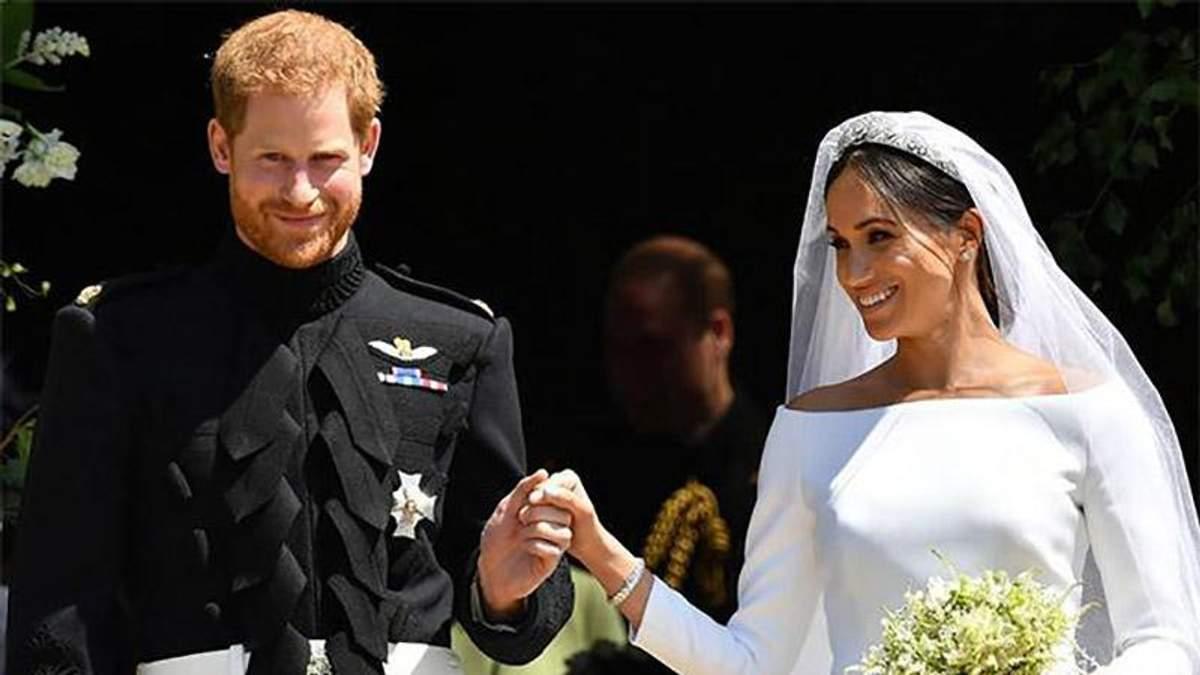 Як принц Гаррі та Меган Маркл особисто подякували за привітання з весіллям: фотофакт