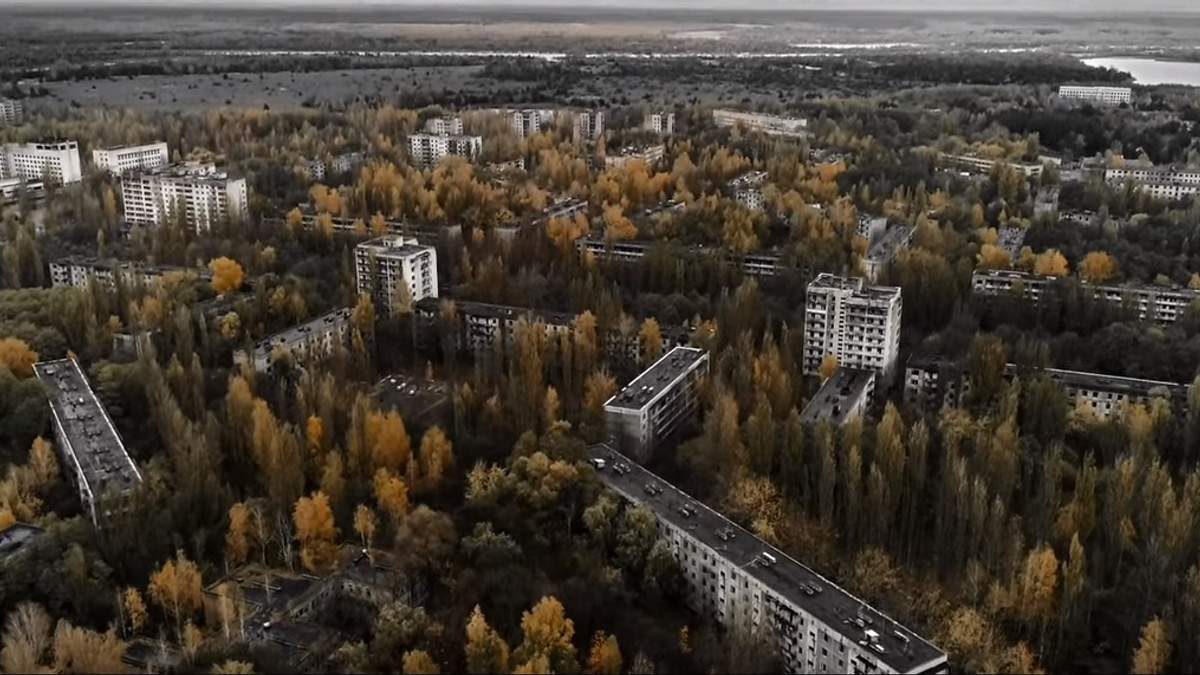 Британський гурт зняв кліп у Чорнобильській зоні: відео