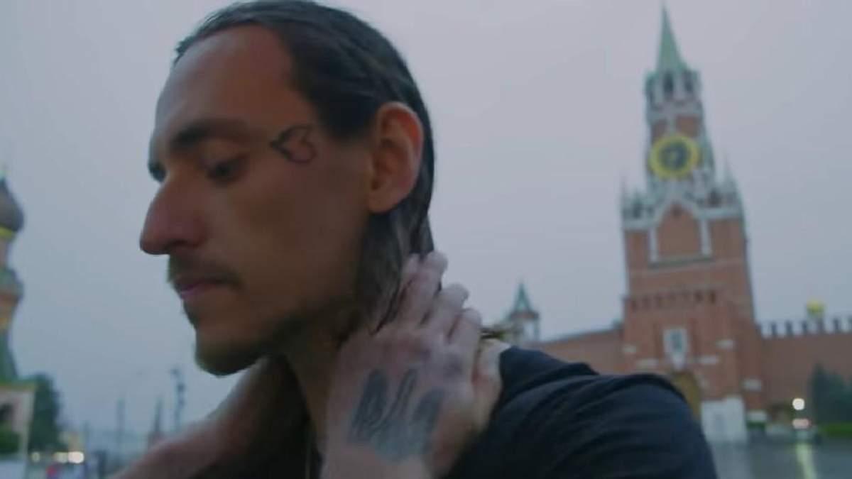 Український танцівник Сергій Полунін закликає об'єднати Україну та Росію біля Кремля: відео