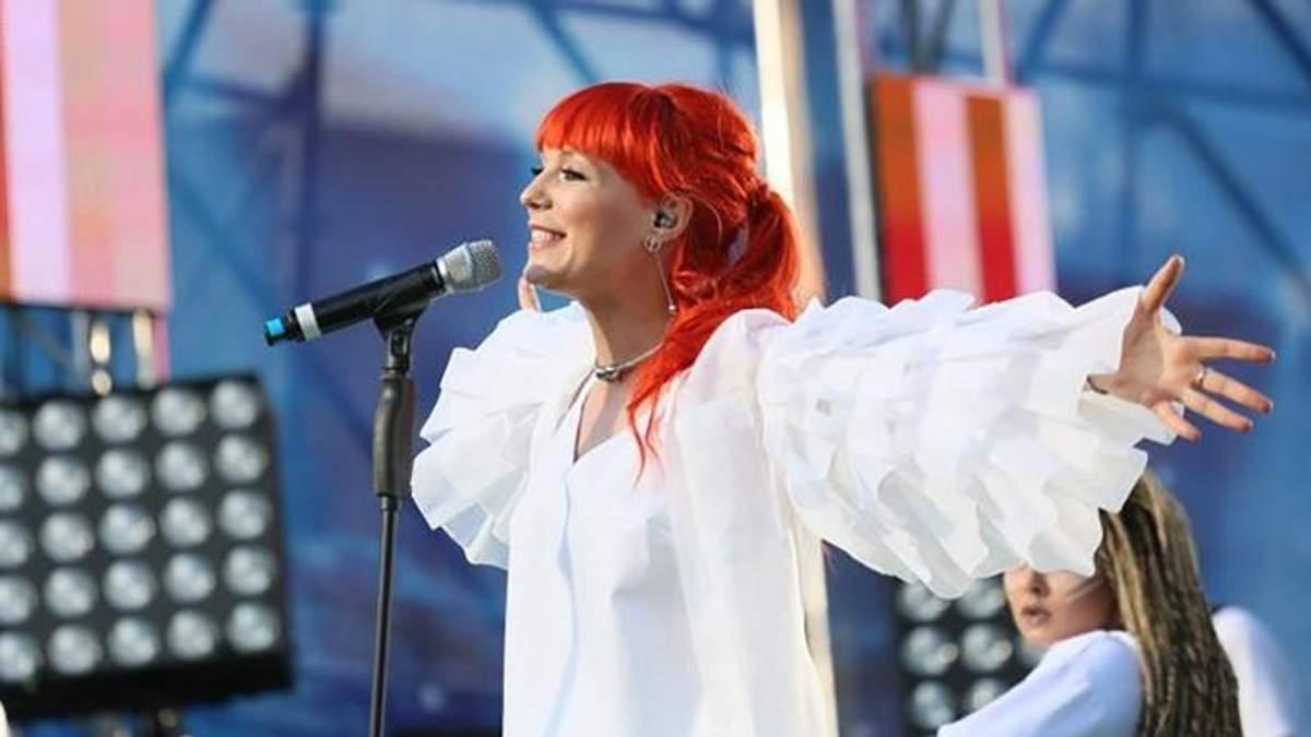 Світлана Тарабарова дала перший концерт після пологів: фотофакт