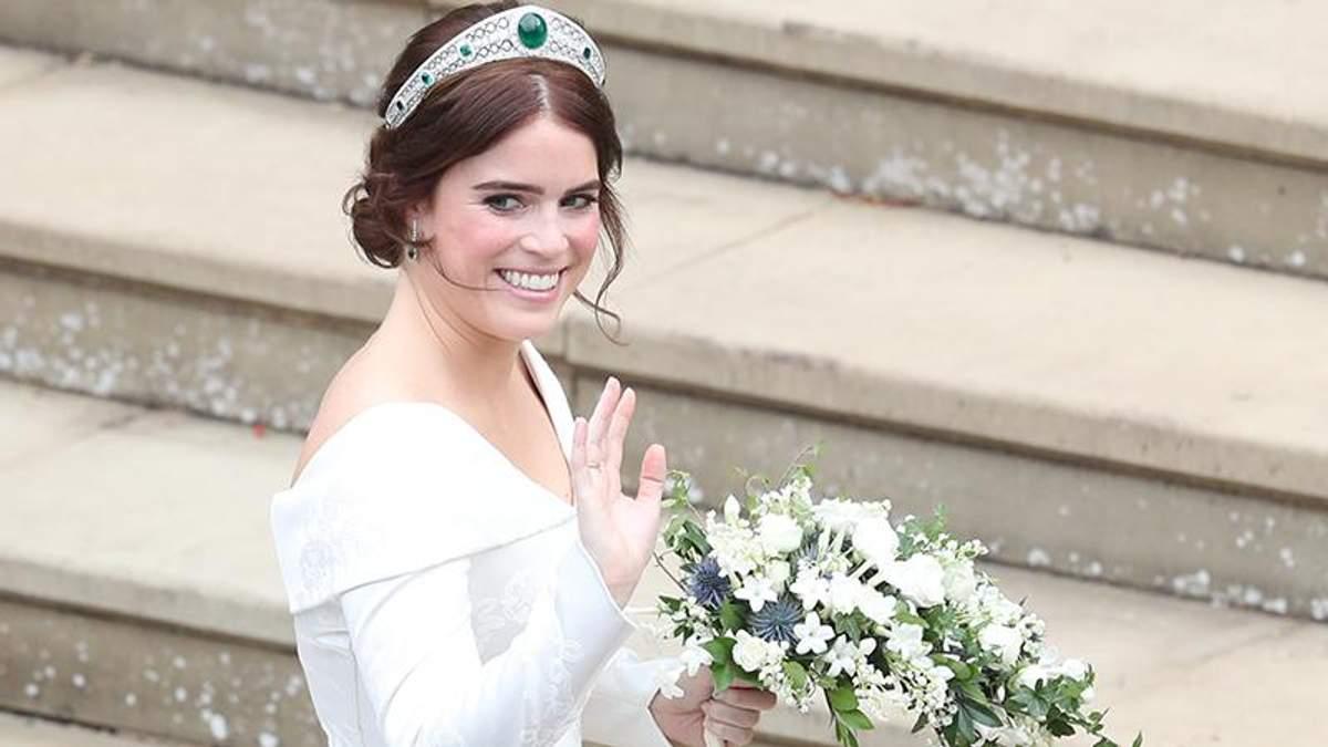 Весілля принцеси Євгенії: що відомо про коштовності нареченої