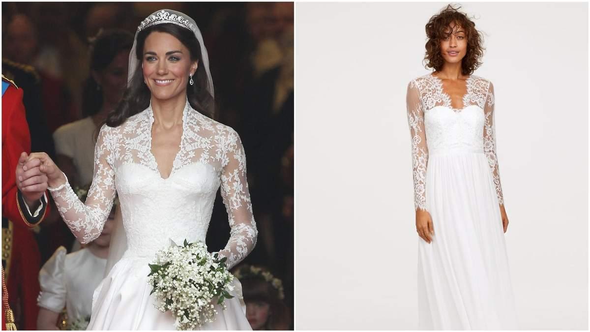 Весільну сукню як в Кейт Міддлтон можна буде придбати за 200 доларів