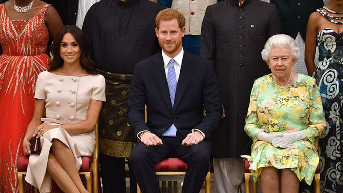 Меган Маркл посварилась з королевою Єлизаветою ІІ перед весіллям