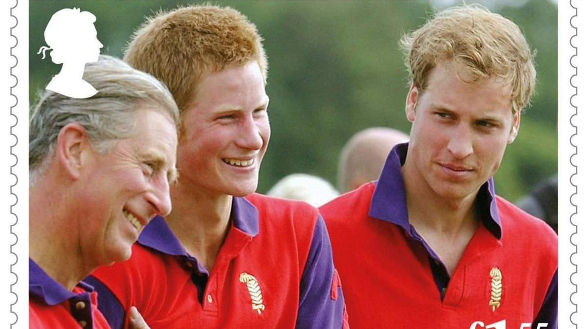 Герцог Уэльский, принц Уильям и принц Гарри