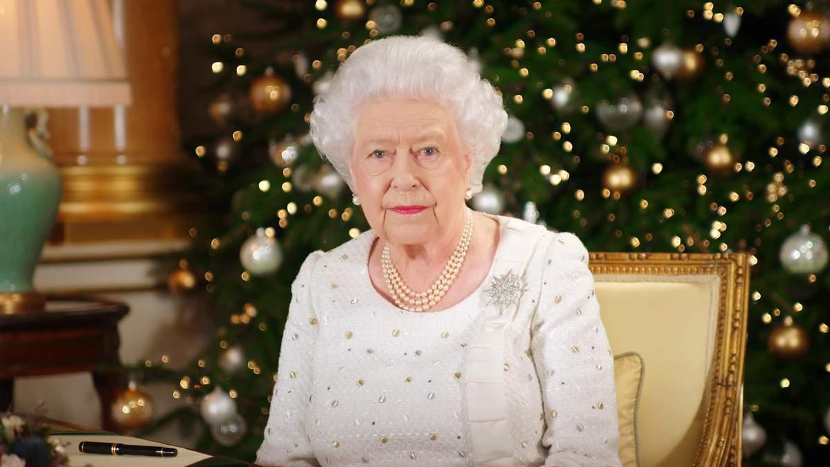 Єлизавета II у Букінгемському палаці, 2017 рік