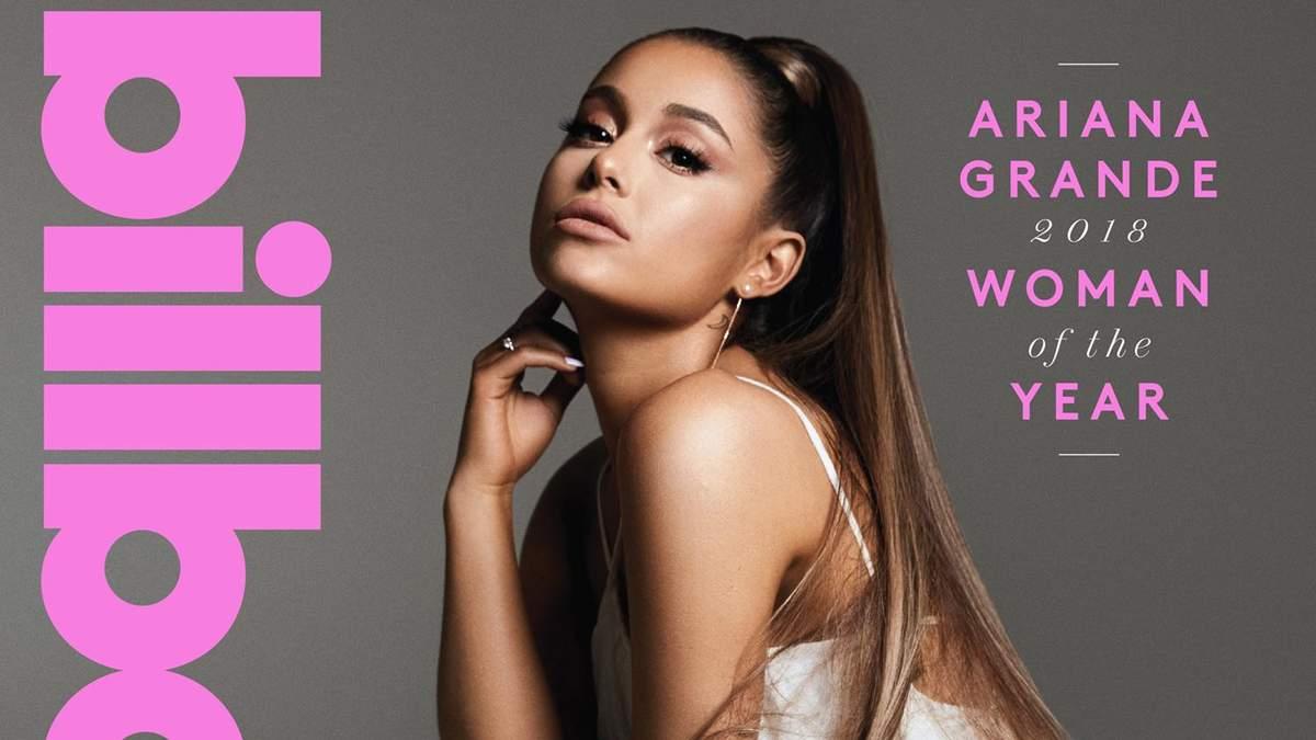 """""""Жінка року 2018"""" Аріана Гранде перед церемонією Billboard знялась в гламурному фотосеті"""