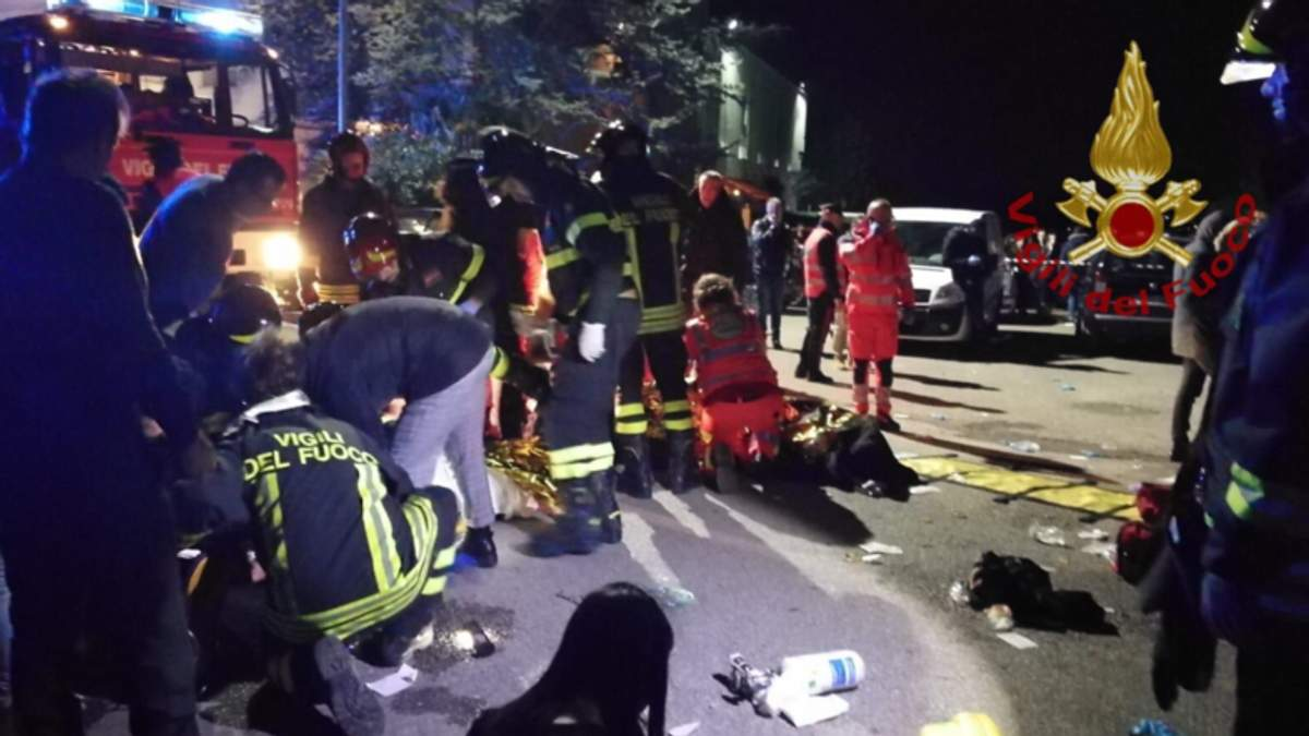 6 осіб загинули та понад 100 потерпілих унаслідок тисняви на реп-концерті в Італії