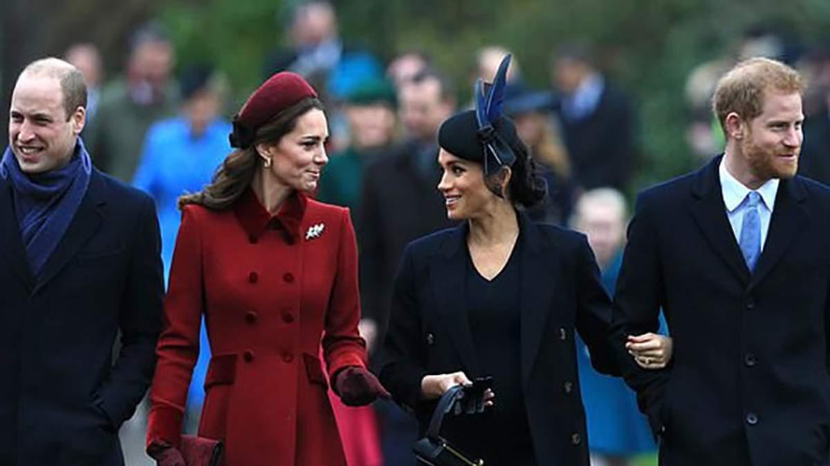 Відчужені та скуті: про що свідчать жести герцогів Сассекських та Кембриджських