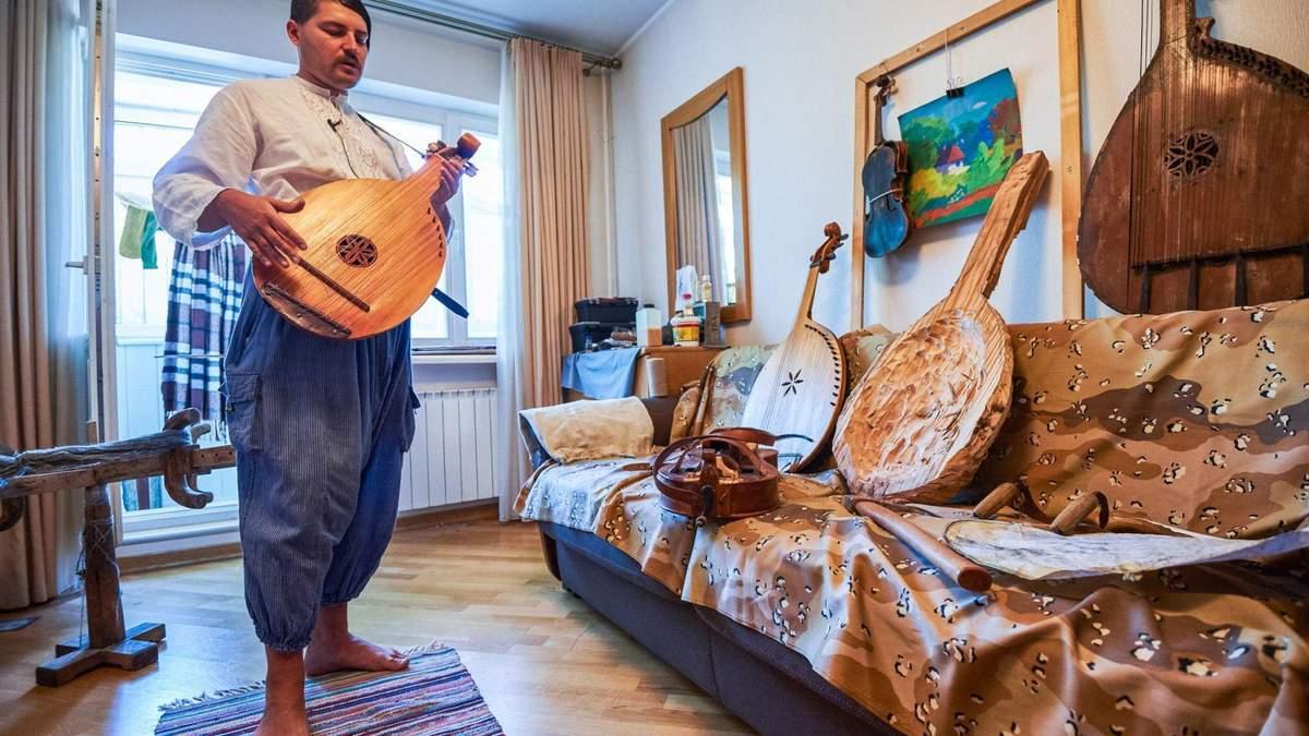 Сучасне кобзарство:  історія унікального музиканта і майстра  з Харкова
