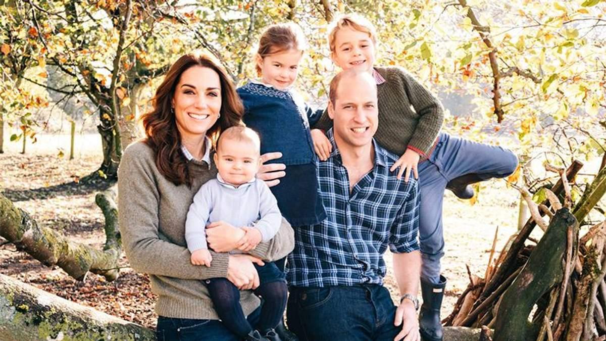 Принц Вільям з Кейт Міддлтон та дітьми