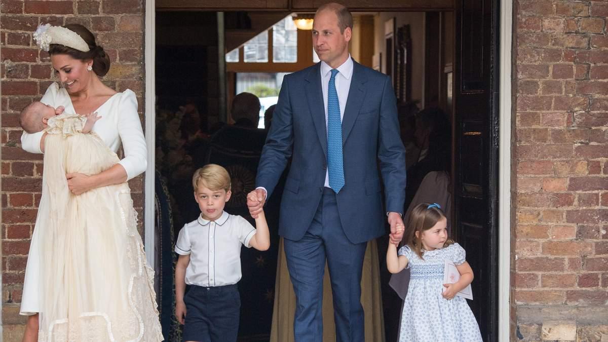 Кейт Міддлтон, принц Вільям та їхні діти