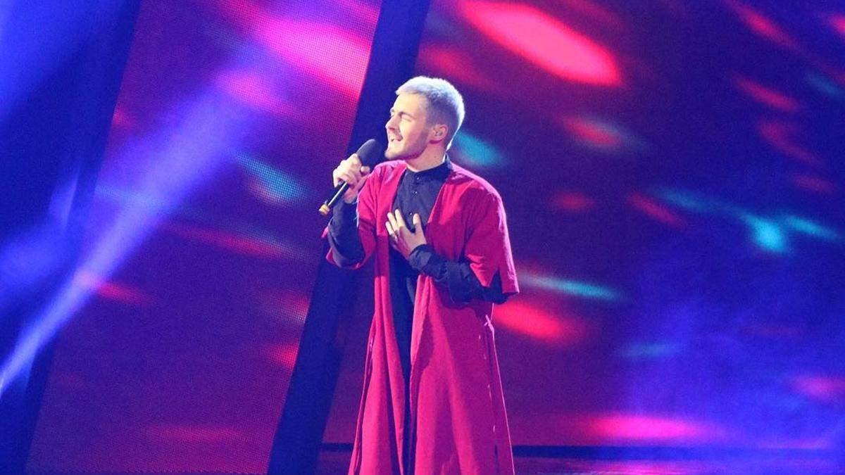 З рухами в стилі Джамали: співак KHAYAT здивував своїм виступом на Нацвідборі