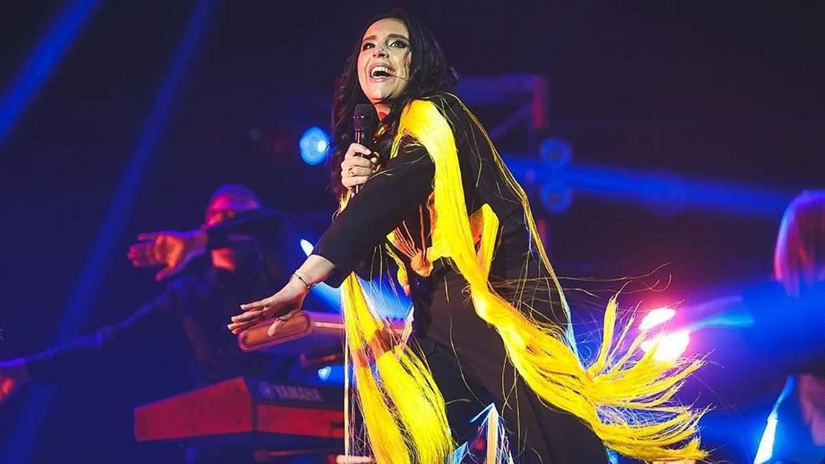 Джамала представила новую песню Solo в финале Нацотбора Евровидения-2019: видео