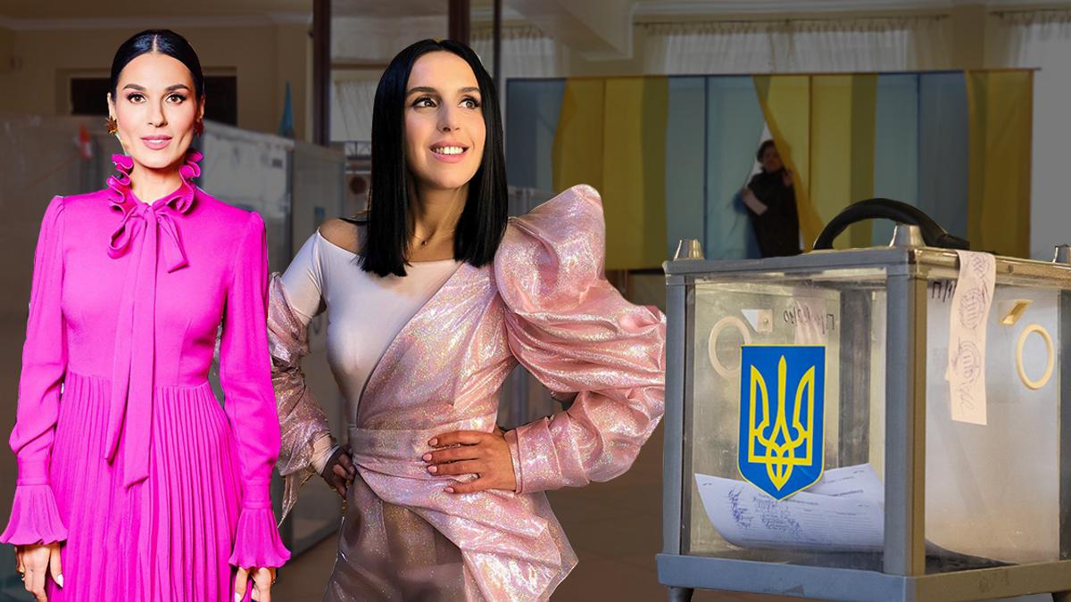 Выборы президента 2019 - фото как голосовали звезды Украины