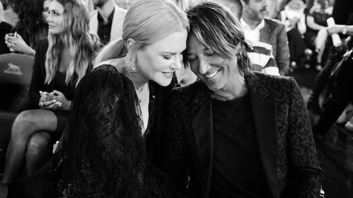 Пара дня: романтичні фото Ніколь Кідман і Кіта Урбана на премії ACM Awards