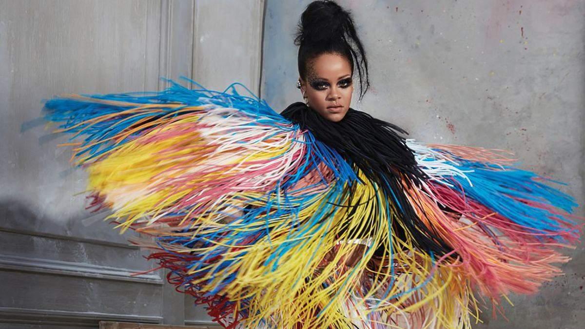 Рианна поразила яркими образами в новом глянце Harper's Bazaar: фото
