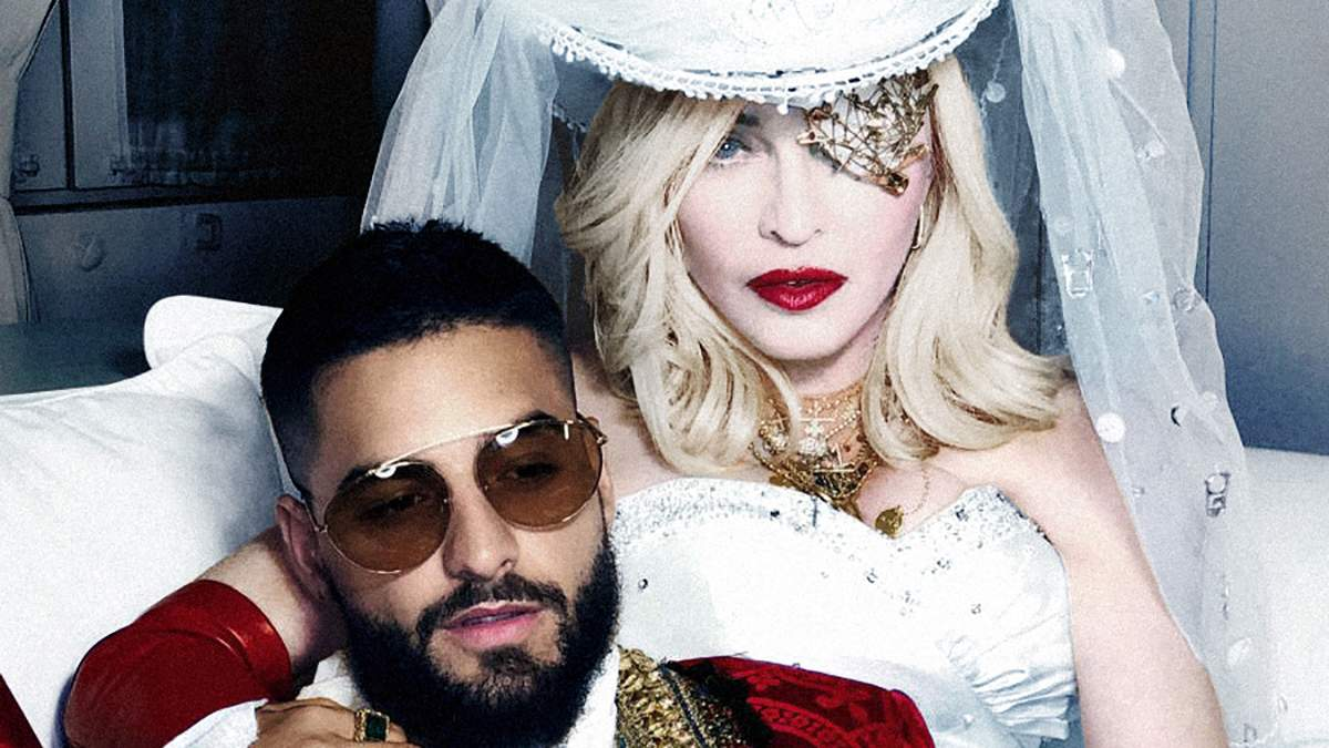 60-летняя Мадонна стала невестой в новом клипе: фото