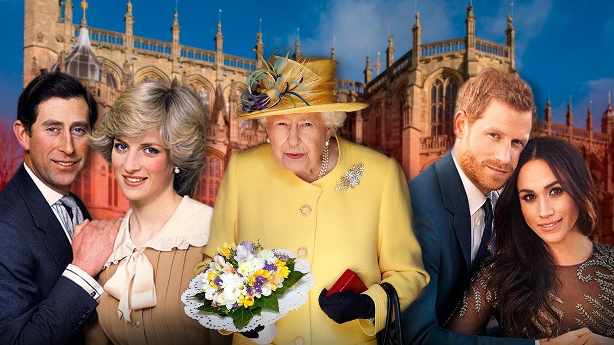 Скандальные браки и громкие разводы в королевской семье
