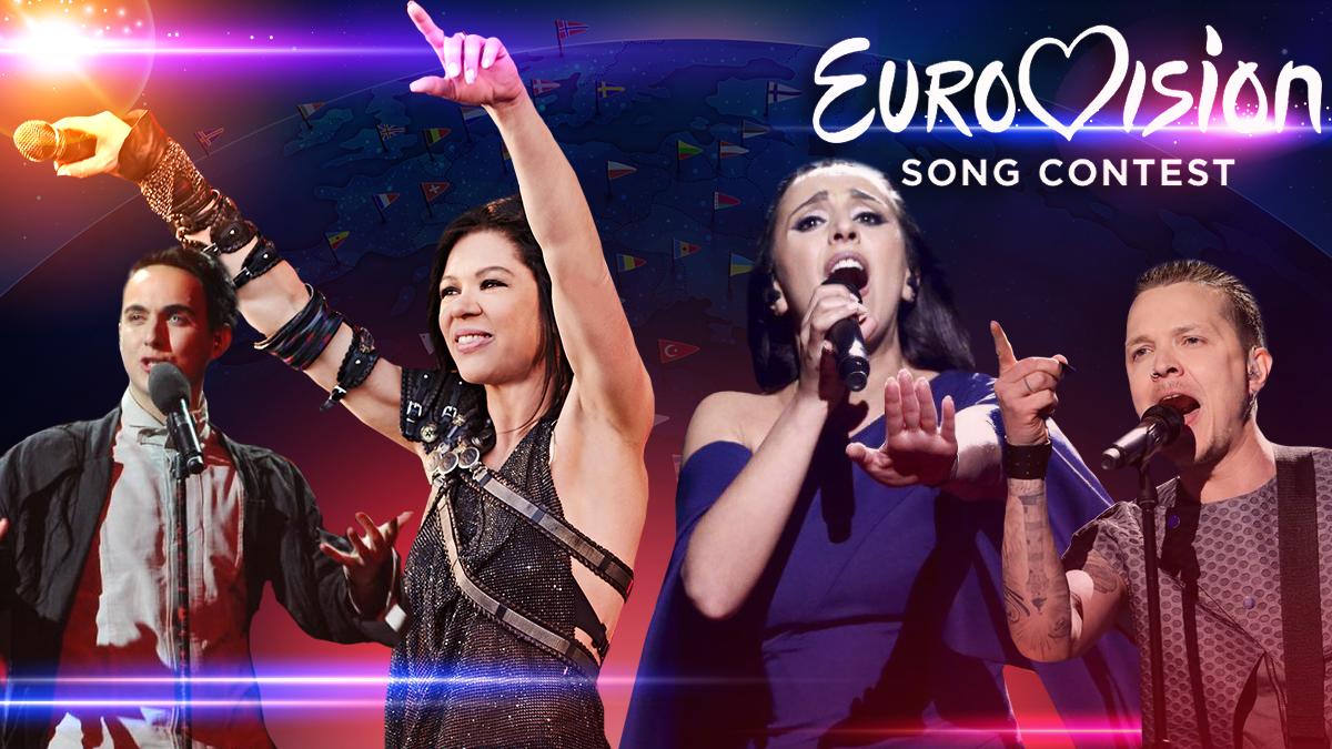 Евровидение 2019 - как Украина выступала на Евровидении с 2003 года