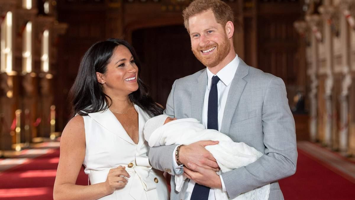 Хрещення Арчі, сина Меган Маркл і принца Гаррі – фото та відео, деталі церемонії
