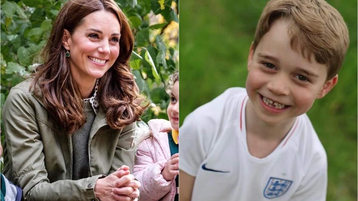 Кейт Міддлтон і принц Джордж