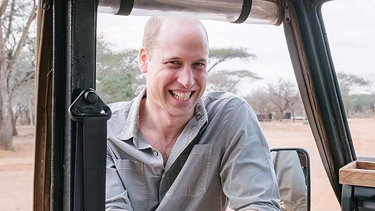 Принц Уильям показал архивное фото
