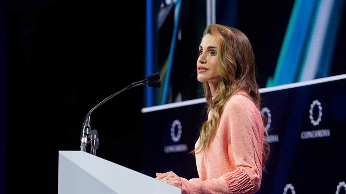 Королева Йорданії Ранія на саміті
